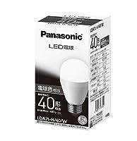 パナソニック LED電球 口金直径26mm 電球40W形相当 電球色相当(6.6W) 一般電球・下方向タイプ 密閉形器具対応 LDA7LH40W