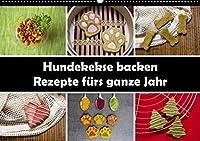 Hundekekse backen - Rezepte fuers ganze Jahr (Wandkalender 2022 DIN A2 quer): 12 Rezepte fuer Hundekekse (Monatskalender, 14 Seiten )