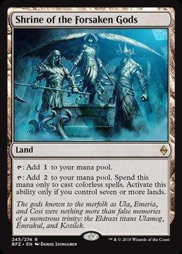 Magic The Gathering - Shrine of The Forsaken Gods (245/274) - Battle for Zendikar