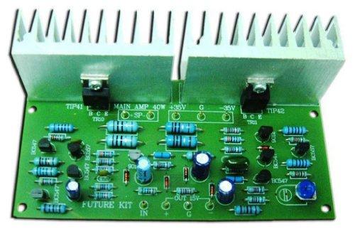 Best Bargain Power Amplifier OCL 35W MONO R1% Assembled Electronic Circuit : FA658