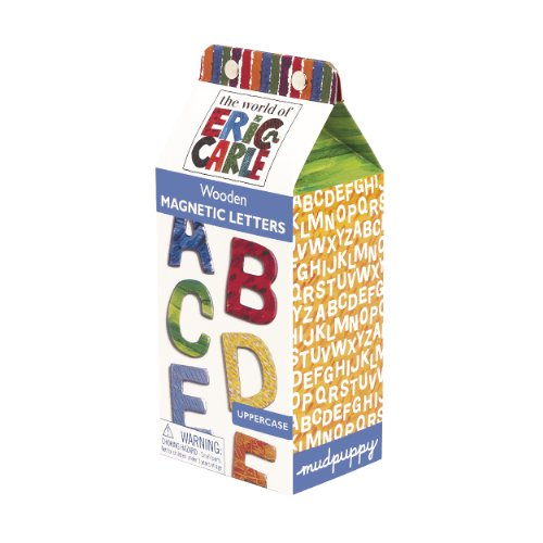 The World of Eric Carle Uppercase Letters Wooden Magnetic Set