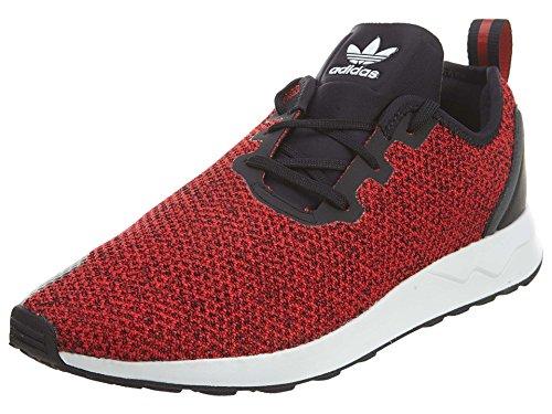 adidas Zx Flux ADV Asym Mens Style: S80544-RED/FTWWHITE/CBLACK Size: 10