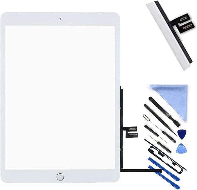 ,2020 iPad 8 8th Gen Incl Flex Cable Connector and Screwdriver A2270, A2428, A2429, A2430 A2197 A2198 A2200 T Phael BlackGold Home Button Compatible with iPad 10.2 2019 iPad 7 7th Gen