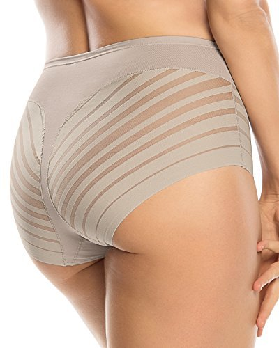 Leonisa Everyday Invisible Tummy Control Panty Girdle for Women