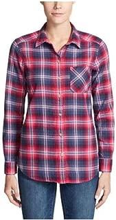 Eddie Bauer Women's Stine's Favorite Flannel Shirt - Boyfriend