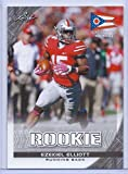 RARE EZEKIEL ELLIOTT 2016 DRAFT EXCLUSIVE OHIO STATE FLAG EDITION ROOKIE CARD! W/H TOP LOADER!