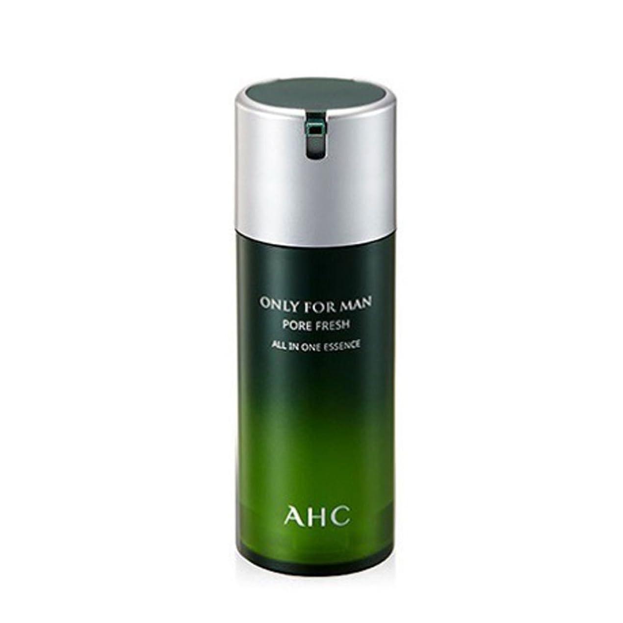 変更ラインナップ結晶AHCオンリーフォーマンフォア?フレッシュオールインワンエッセンス120mlの男性用化粧品、AHC Only For Man Pore Fresh All In One Essence 120ml [並行輸入品]