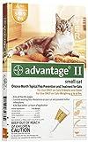 Advantage II 6pk Cat Orange 1-9 Lbs