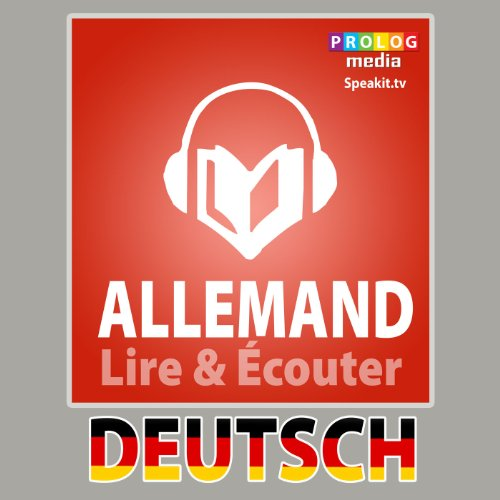 Allemand - Guide de conversation [French Edition] audiobook cover art
