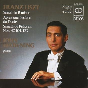 Liszt, F.: Piano Sonata in B Minor / Annees De Pelerinage, 2Nd Year, Italy