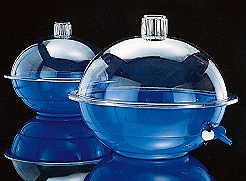Nalge 029363desecador azul polipropileno parte inferior y tapa de policarbonato, sin grifo TFE