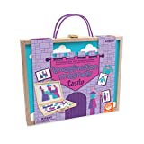 MindWare Imagination Magnets: Castle - Castle-Themed Puzzle Magnet Toys for Girls & Boys Ages 3 & up - 50 Puzzles & 42 Magnets - Travel-Sized Carrying case with Dry-Erase Board for on-The-go Play