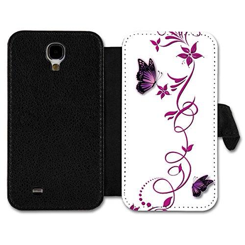 Book Style Flip Handy Tasche Hülle Schutz Hülle Schale Motiv Etui für Huawei Ascend Y330 - A14 Design12