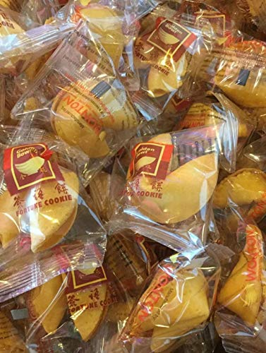 Golden Bowl 30 pieces Individually Wrapped Traditional Fortune Cookie