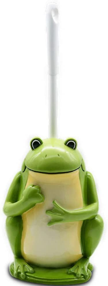 QiXian Bathroom Creative Toilet Brush Set Frog Prince Cl 2021 new Oklahoma City Mall Cartoon