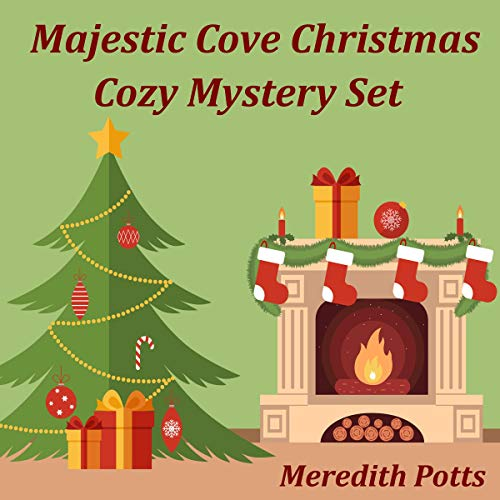 Majestic Cove Christmas Cozy Mystery Set Audiobook By Meredith Potts cover art