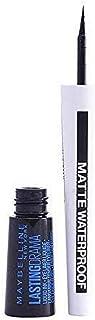 Maybelline New York Vloeibare eyeliner, waterbestendig, veegvast en langdurig, duurzame drama vloeibare inkt matte eyeline...