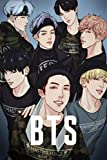 BTS: Planner with colored interior to increase Productivity & Happiness - Weekly Planner, Organizer & Gratitude Journal for Stress Relief, Happiness ... for ARMY and KPOP lovers 6x9 Glossy Cover