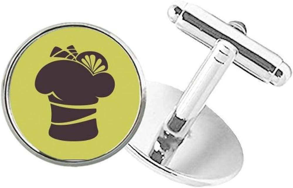 DIYthinker Black Sale Special Price Lemon Ice Outline Round Cuff Clip shopping C Button Stud