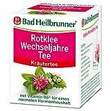 Bad Heilbrunner Rotklee Wechseljahre Tee im Filterbeutel, 12er Pack (12 x 8 Filterbeutel)