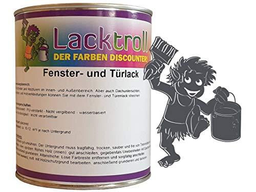 Fenster- und Türlack Schiefergrau RAL 7015 Seidenglanz 750 ml