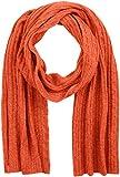 Gant O2. Cable Knit Scarf Bufanda, Naranja (Burnt Ochre), Talla única para Mujer