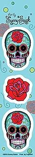 Sunny Buick - Mini Rose Sugar Skull Strip of 3 Stickers / Decals