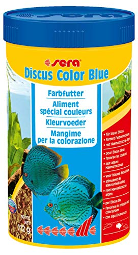 Sera Discus Color blue 250 ml, per stuk verpakt (1 x 250 ml)