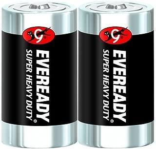 Eveready Super Heavy Duty Battery Size D 1.5 V Blister Pack 2 by Eveready Battery Company