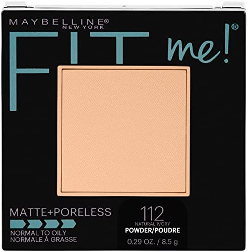 Maybelline New York Fit Me Matte Poreless Pressed Face Powder Makeup Natural Ivory 0 28 Ounce product image