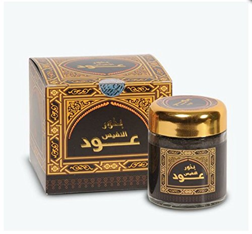 bakhoor Incense oud alnafees 50 Grams banafaa for Oud بخور عود النفيس بانافع للعود