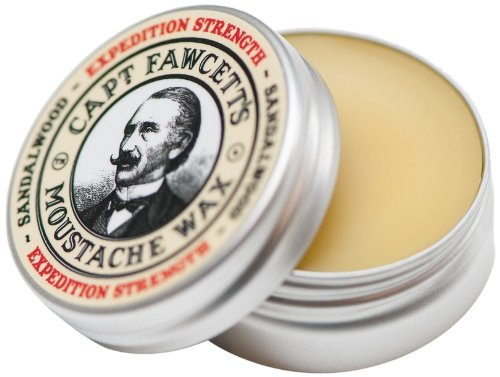 Captain Fawcett Expedition Strength Moustache Wax For A Firmer Hold 15ml, 1er Pack (1 x 15 ml)