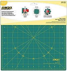 in budget affordable OLFA17 Rotating self-rotating rotating mat