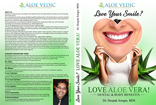 DENTAL AND BODY BENEFITS OF ALOE VERA: LOVE YOUR SMILE! LOVE ALOE...