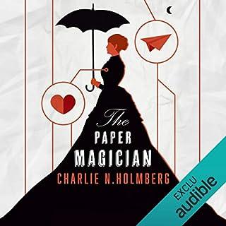 Page de couverture de Paper Magician: Saga The Paper Magician 1 [French Version]