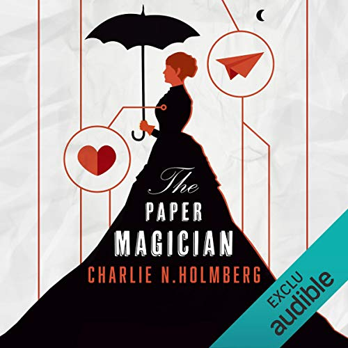 Paper Magician: Saga The Paper Magician 1 [French Version] audiobook cover art