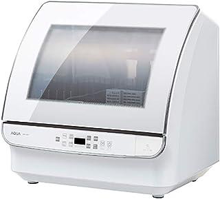 【 AQUA 】食器洗い乾燥機 34L ホワイト アクア / 工事不要 しょくせんき 高性能 超節水 タイプ タッチパネル式