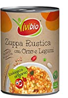 vivibio zuppa rustica con orzo e legumi bio - 400 g