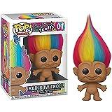 Pop Magic Hair Elf Dwarf Troll # 01 Rainbow Elf Figura De Acción De Colección Modelo De Juguete con Caja De Regalos para Niños 10Cm