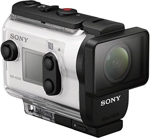 Sony HDR-AS300R Full HD Action Cam mit RM-LVR3 Live Remote Fernbedienung weiß - 7