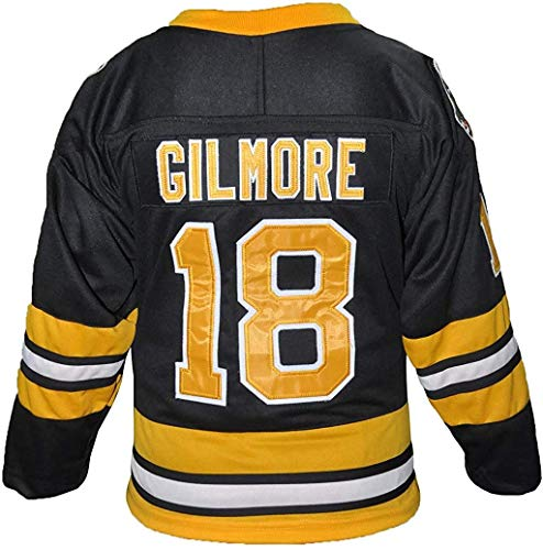 borizcustoms Hap Gilmore 18 Sanders Movie Black Jersey Stitch Sewn XS-2XL Halloween Costume Patches (50)
