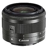 Canon EF-M 15-45mm f/3.5-6.3 IS STM SLR - Objetivo (SLR, 10/9, Objetivo de Zoom estándar, 0,25 m, Canon M, 15-45)