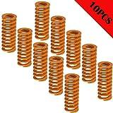 CESFONJER Stampante 3D molle 10pcs, compressione molla,0.31 in od 0.78 di lunghezza compre...
