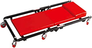 ZXWCYJ Rolling Garage/Shop Creeper, Mechanics Creeper Rolling Seat Auto Car Shop Garage Repair Work Tool, with Adjustable Headrest and 6 Casters