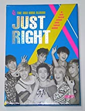 GOT7 - Just Right (3rd Mini Album) CD + 84p Photobook + Photocard + Folded Official Poster + GOT7 Postcard + Sticker + Extra Photo card