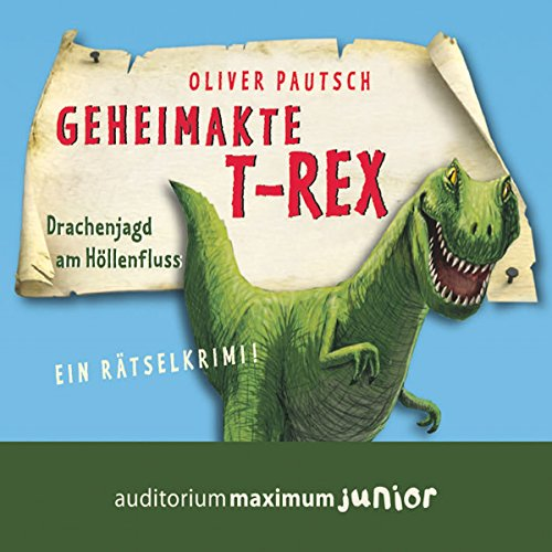 Couverture de Geheimakte T-Rex - Ein Rätselkrimi