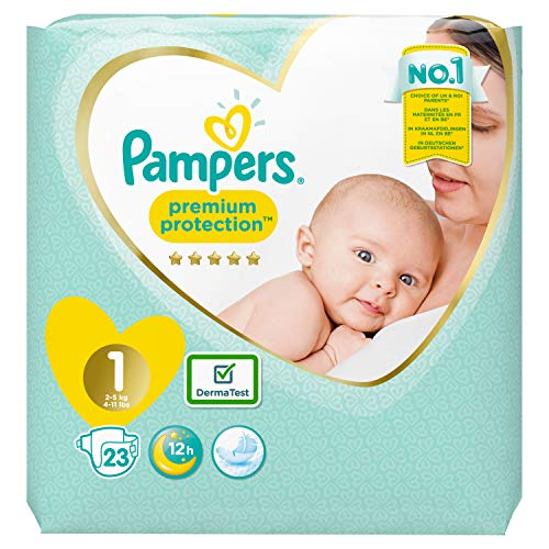 Pampers Premium Protection Windeln, Gr. 1, 23 Windeln
