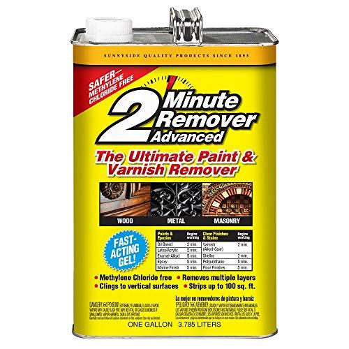 Sunnyside Corporation 634G1 Paint & Varnish, Gallon, 2 Minute Remover Advanced Gel, 2 Pack