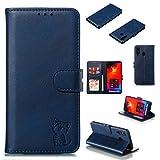 Smfu Case for Samsung Galaxy A8S Wallet Case Folio Flip
