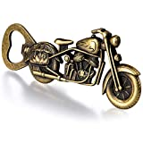 Cacukap Vintage Motorcycle Bottle Opener, Unique Motorcycle Beer Gifts for Men.